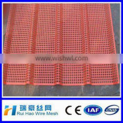 2014 EN standards customized Hot dipped galvanized perforated metal mesh for walkway from Hebei Anping