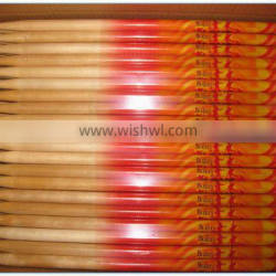 2015 OEM Chinese Factory Hot Sale 5b wooden birch drum stick colorful drumstick
