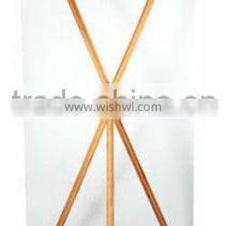 new design 60*160CM bamboo X baner stand