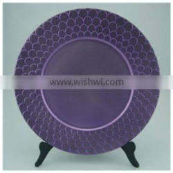 Custom best charger plate elegant charger plate