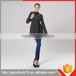 Wholesale New Alibaba Products Long Line Wollen Coat