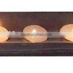 Soap Stone Decorative Tealight Candle Holders ~ Carved Soapstone Tea Light Candle Holder ~ T-Light Candle Lantern ~ Candle Stand