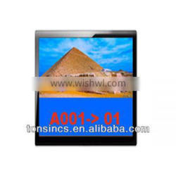Token System LCD Counter Digital Signage Display