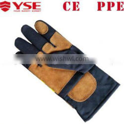 Aramid PPE industrial Fire fighting gloves