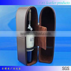 Factory direct hot new products for 2015 alibaba china wholesale pu leather wine box