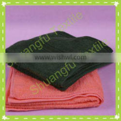 100 cotton square army green towel