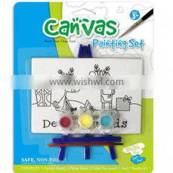 Kids Painting Mini Easel and Canvas Wholesale