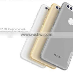 2016 Newest High Quality Nillkin Nature Transparent Soft TPU Case Back Cover For HUAWEI HONOR 8