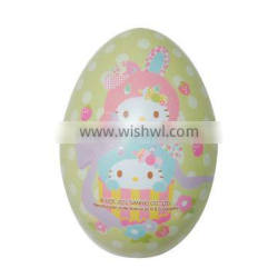 colorful and beautiufl egg packing tin package for Easter