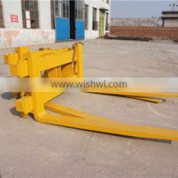 Customized LG956L Wheel Loader Pallet Fork, 1690100037 Fork Tooth Length 1250mm and Max.Width 2400MM