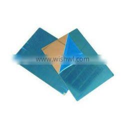 Glossy stainless steel 304 for laminating plastic cards