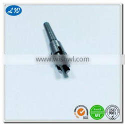 OEM high quality professional stainless grooved pillar shafting based on your detail drawing