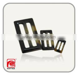 Fashion polyester imitation horn Belt buckles for coat customized design available
