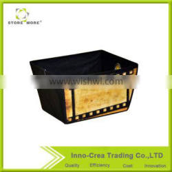 Hot Selling Front PP Printing Non Woven Folding Fabric Storage Box
