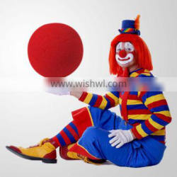 Funny Red Sponge Clown Nose with Diameter 2''