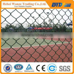 Hot sales High Quality Galvanized or PVC coated Chain Link Fence with low price