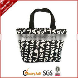 Cheap letter pattern handbags for students
