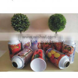 High quality empty aerosol tin can for air freshener for Guangzhou manufacture