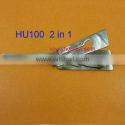 Original Lishi HU100 lock pick and decoder together 2 in 1 tools with best quality