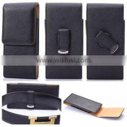 for iphone 6 plus detachable wallet leather case with belt holster