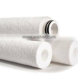 100% polyester air filter media/material/cloth roll