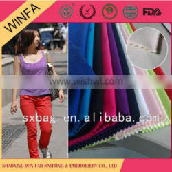 Shaoxing supplier Competitive price Colorful suiting fabric