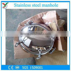 Stainless steel sanitary manhole cover