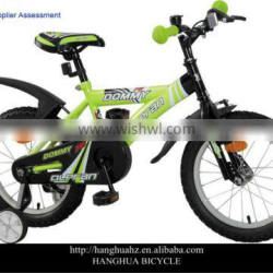 HH-N27 16 inch cartoon mtb kids bike with reflector from China factory