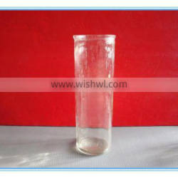 Tall and Long Straight Glass Candlestick,Glass Candle Holder wholesale