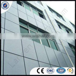 PE(Polyester) fireproof wooden drawing aluminum composite panel materials