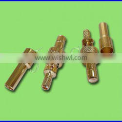 SMB Male Straight RF Coaxial Connector for RG174/316 Cable
