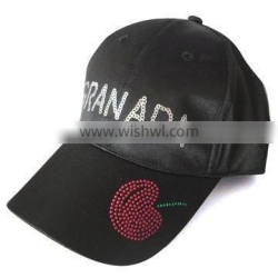 fashion cap/girl's cap with esequins