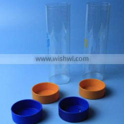 50mm plastic tube with colored PP cap