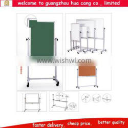 Cheap white digital board for school, white board with roller, white board with stand
