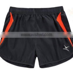 mens three points running shorts pants in the summer quick-drying marathon training pants