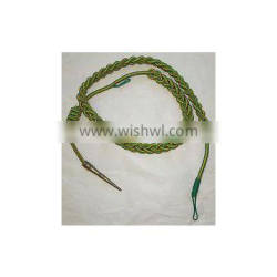 Army Aiguillette Gold Wire Cord/British Navy Army Aiguillett/US Officer Aiguill