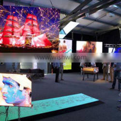 P6 big stage led background wall for rent