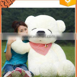 2015 hot sale cheap good quality 2 meter plush teddy bear for sale for promotion gift