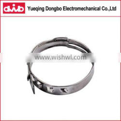 Flexible Seamless Low Profile Auto Spare Parts Clamp