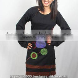 SHWDR184 cotton jersey dress price 700rs$7.20