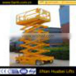 Hydraulic window cleaning lift electric scissor lift for sale