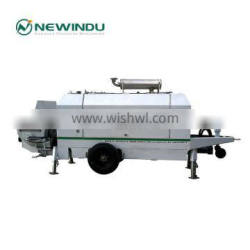 Favorable Price Trailer Concrete Pump Liugong HBT85 with High Quality