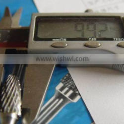 Type F Arc Ball Nose tungsten carbide rotary burrs