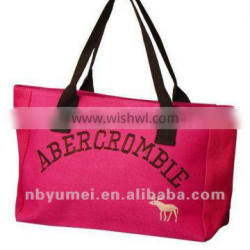cheap large canvas shopping bags