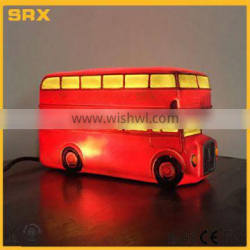 OEM bus table lamp with LED lighting