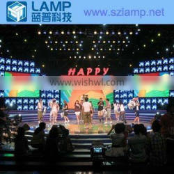 LAMP P6.944 high resolution full color led video module for stage
