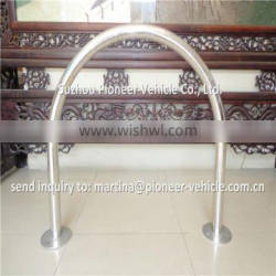 strong and durable rust prevention surface mount mountain cycling racks
