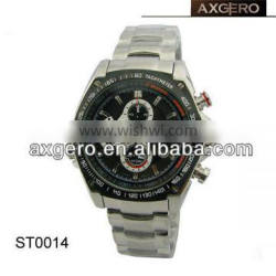 High quality stainless steel watch for men