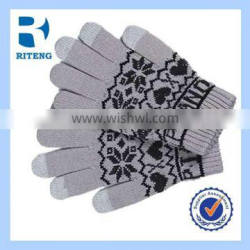 striped touch screen glove smart phones touch gloves touch glove for phone