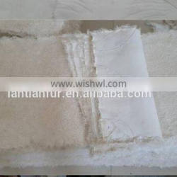 lamb fur plate and high quality lamb fur blanket with best price china supplier